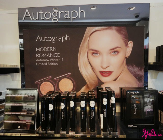 marks and spencer, M&S, autograph, cosmetics, skincare, beauty, makeup