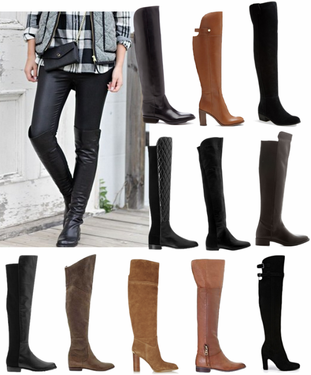Over The Knee Boots / Trend Fall 2014