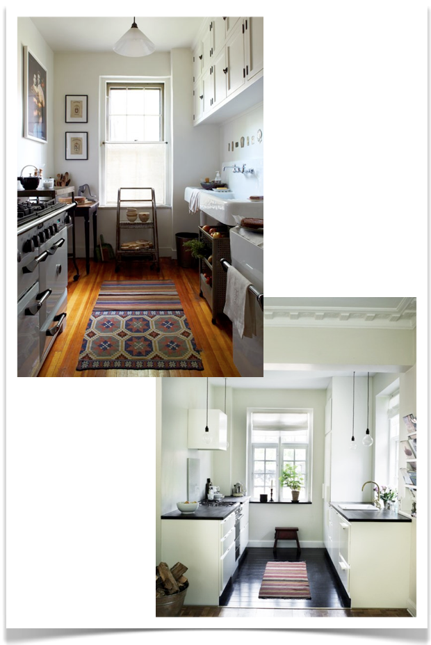 And In Smaller Spaces The Galley Kitchen Is Perfection