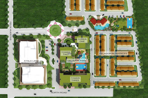Celadon Park Manila Site Development Map