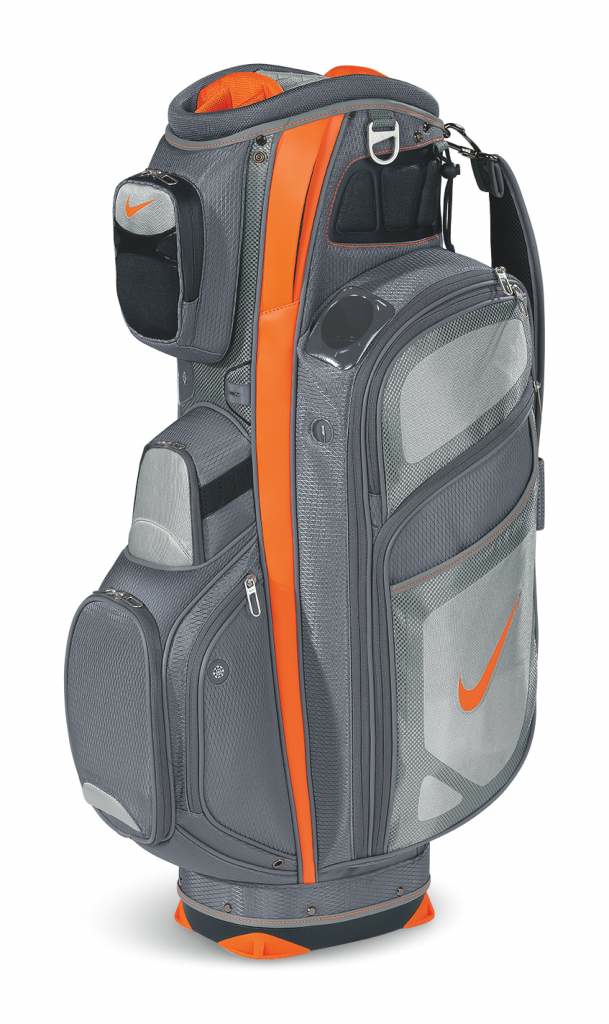 Nike Golf is introducing the new Nike Performance Cart bag, designed for  the golfer who chooses to venture out onto the course on wheels. ba0dc914b6