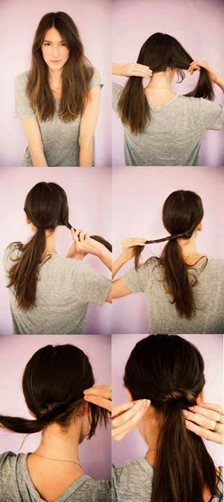Cute And Quick Hair Style Tutorial..