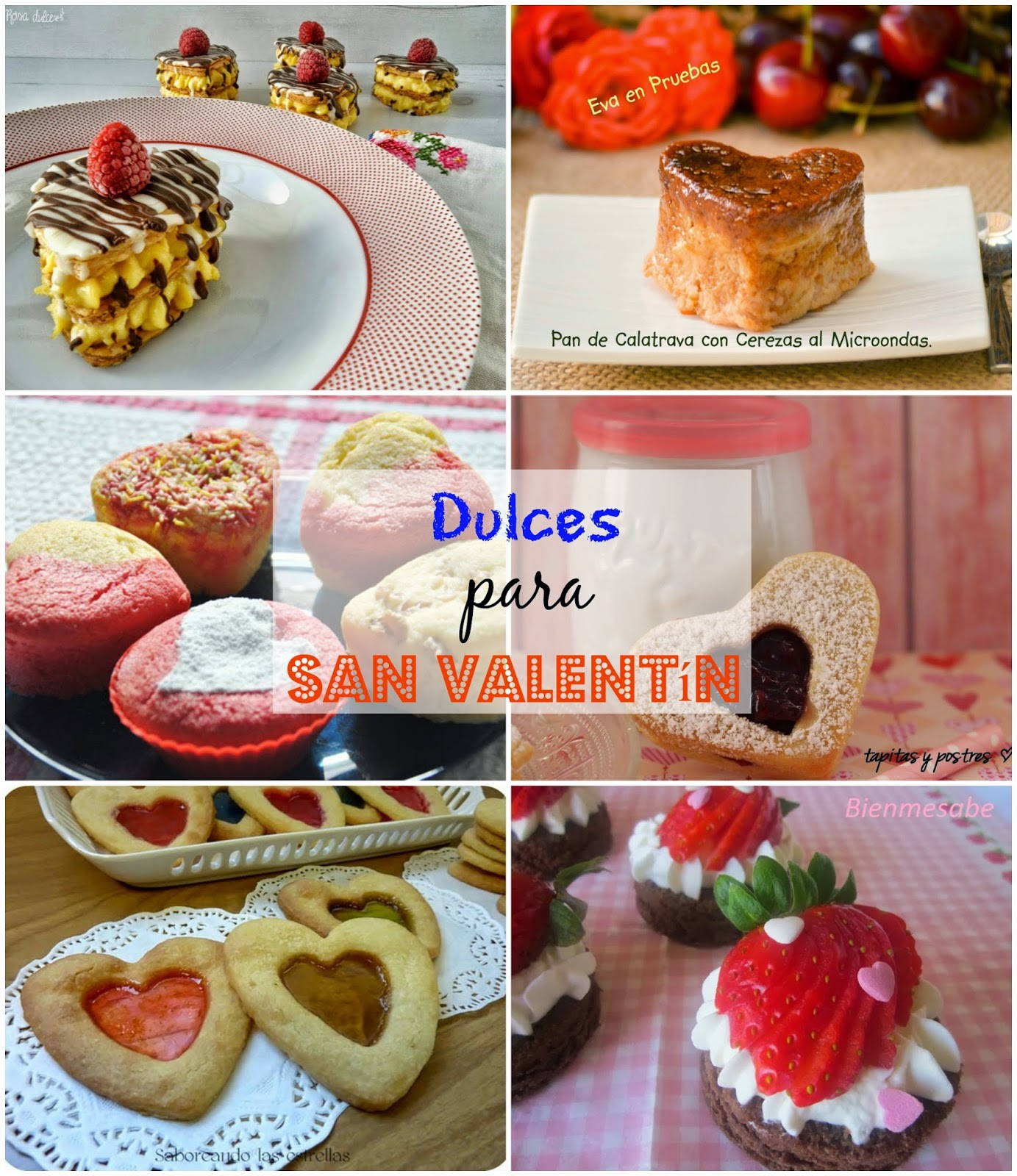 dulces de san valentn para enamorar