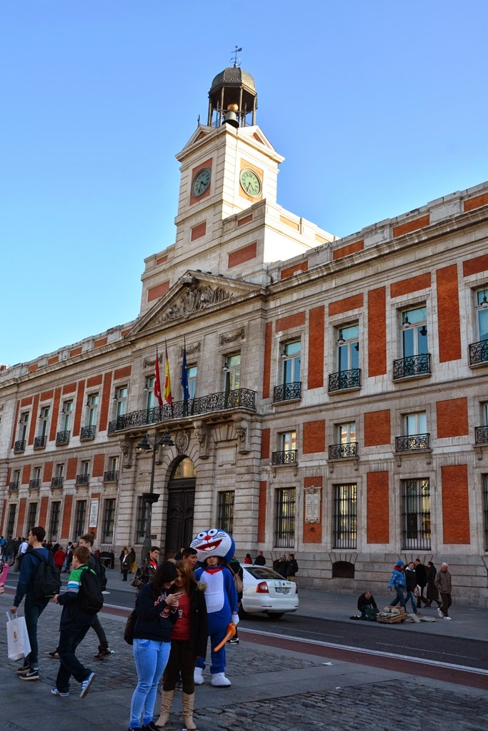 Puerta del Sol Madrid Post Office