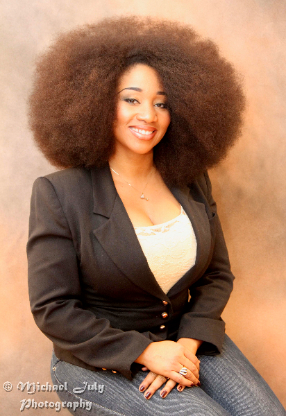 Naturally Beautiful Hair: Aevin Dugas - Holds record for