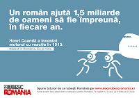 Why I Love Romania?  De Ce Iubesc Romania? Henri Coanda afis