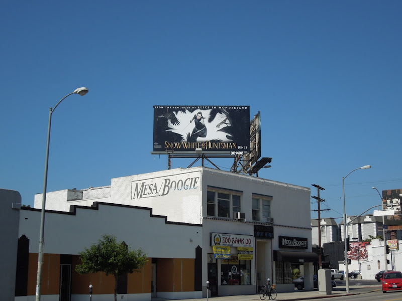Snow White and Huntsman Kristen Stewart billboard