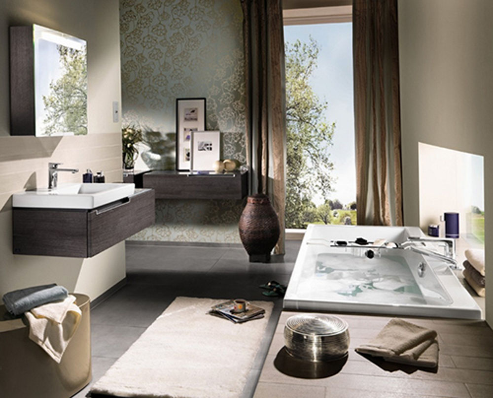 grey and chocolate brown bathroom bathroom can bring your comfortable with some original ornament beauty furniture make the room elegant brown bathroom furniture