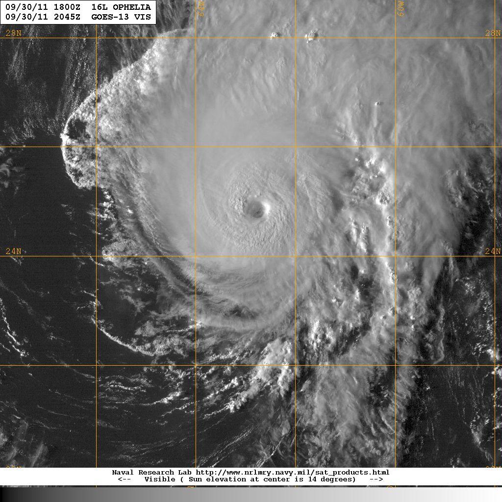 Hurricane Season 2011: September 2011