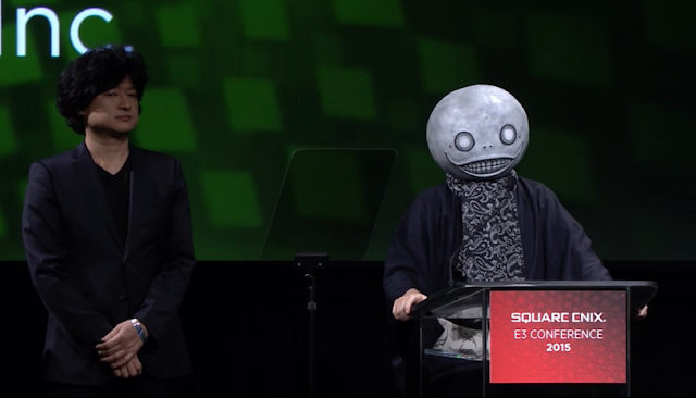 NieR Emil Weapon Number cosplay Square Enix E3 2015 conference