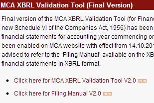 MCA XBRL Validation Tool (Final Version)