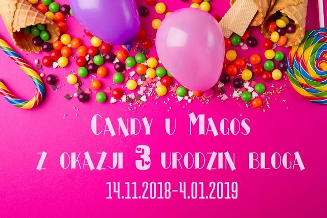 Candy na 3 urodziny bloga