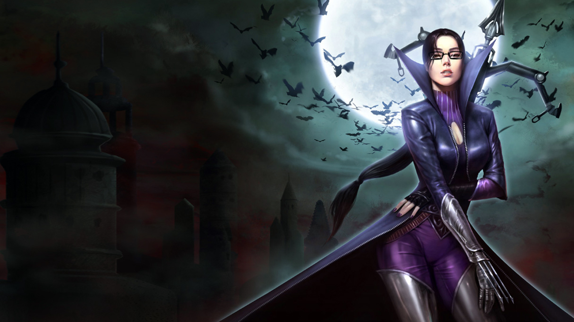 Vayne Vindicator Sexy Skin Wallpaper HD
