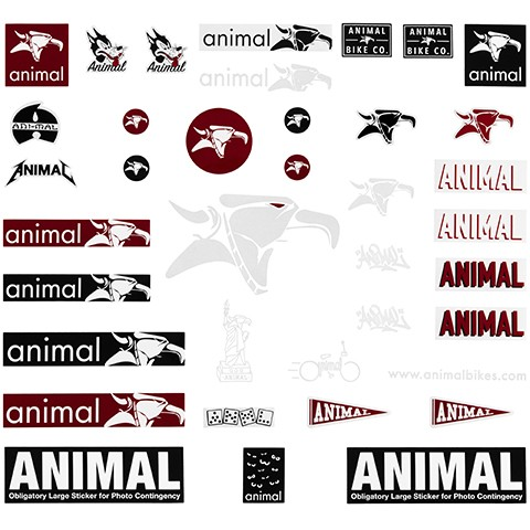 Kit de stickers ANIMAL $28.000