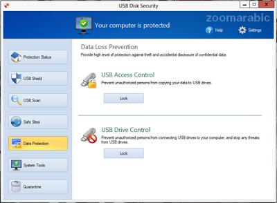 حمايه الفلاش USB من الفيروسات Download USB Disk Security 2014