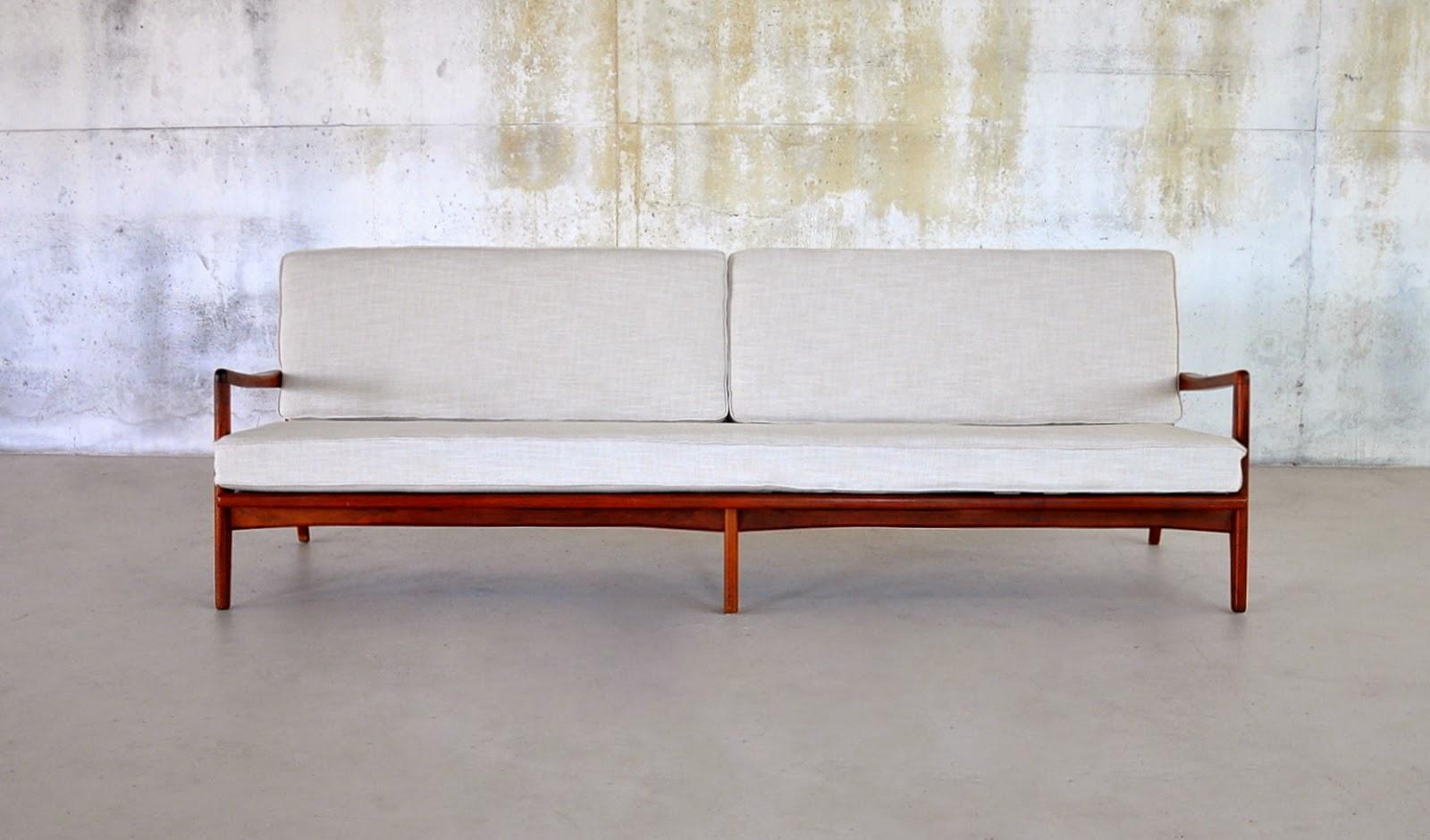 select modern danish modern teak 4 seater sofa danish modern