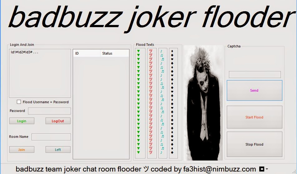 Nimbuzz Chat Room Flooder Download