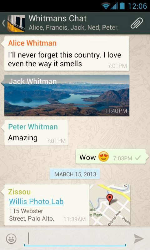 Free Download-WhatsApp Messenger 2.11.109-For Android
