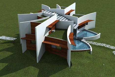 ARQUITECTURA SOSTENIBLE ARQUITECTURA SUSTENTABLE via www.lasfachadas.blogspot.com