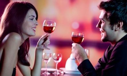 Can Drinking Predict Your Compatibility -man woman drink wine drinking
