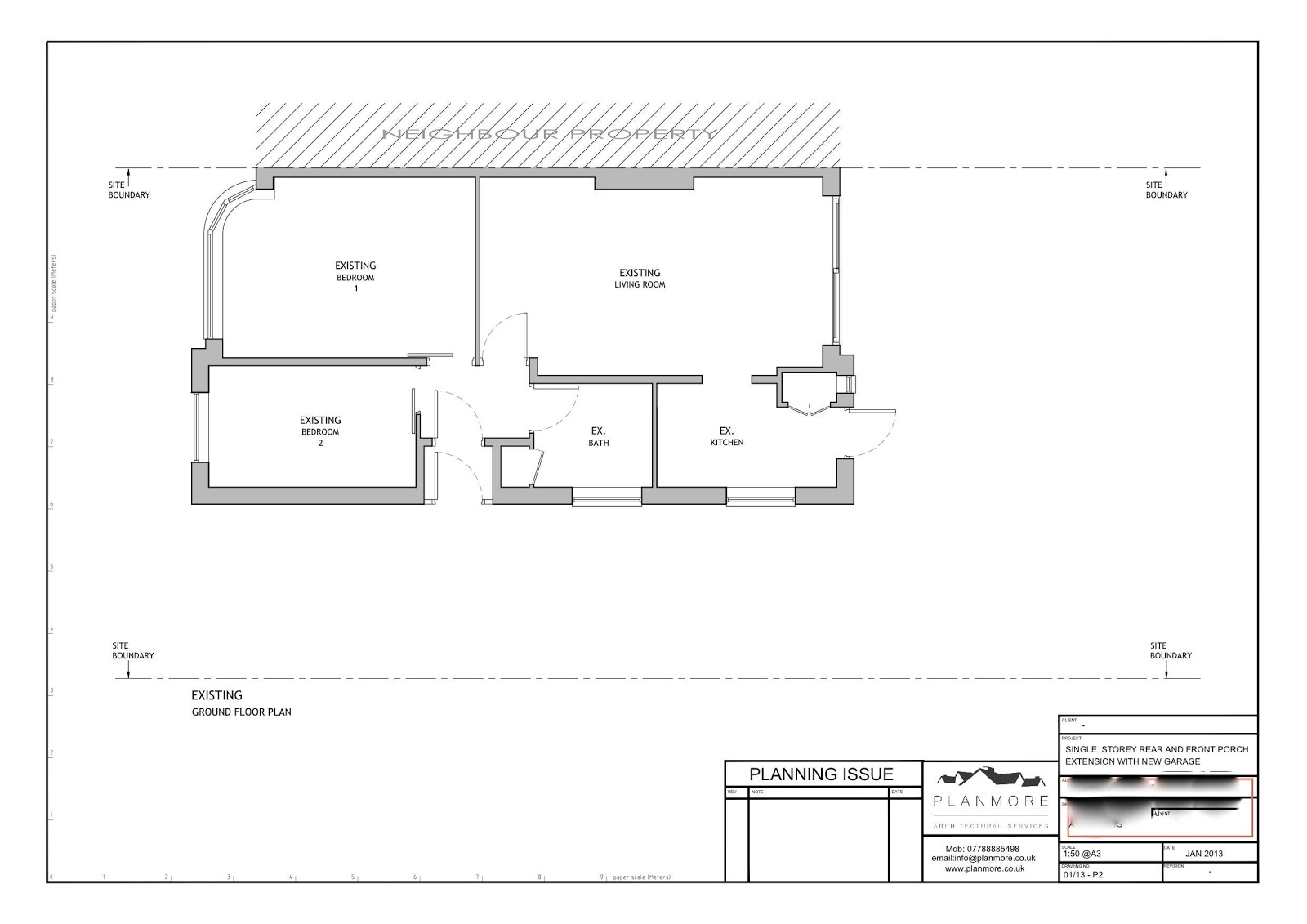small bungalow house drawing