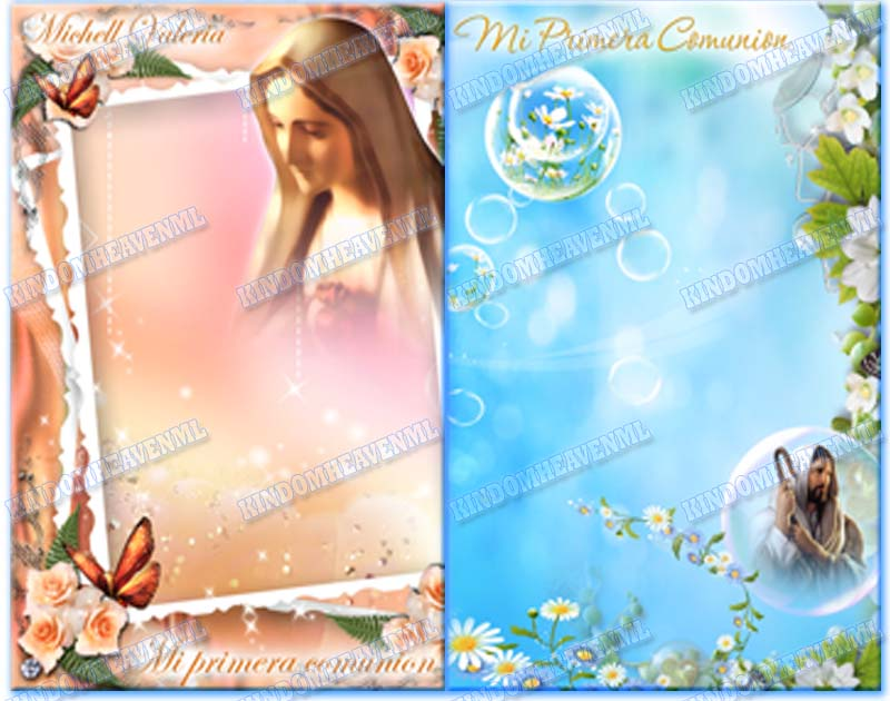 PLANTILLAS PSD PHOTOSHOP FOTOMONTAJES INFANTILES TEMPLATES ORIGINALES