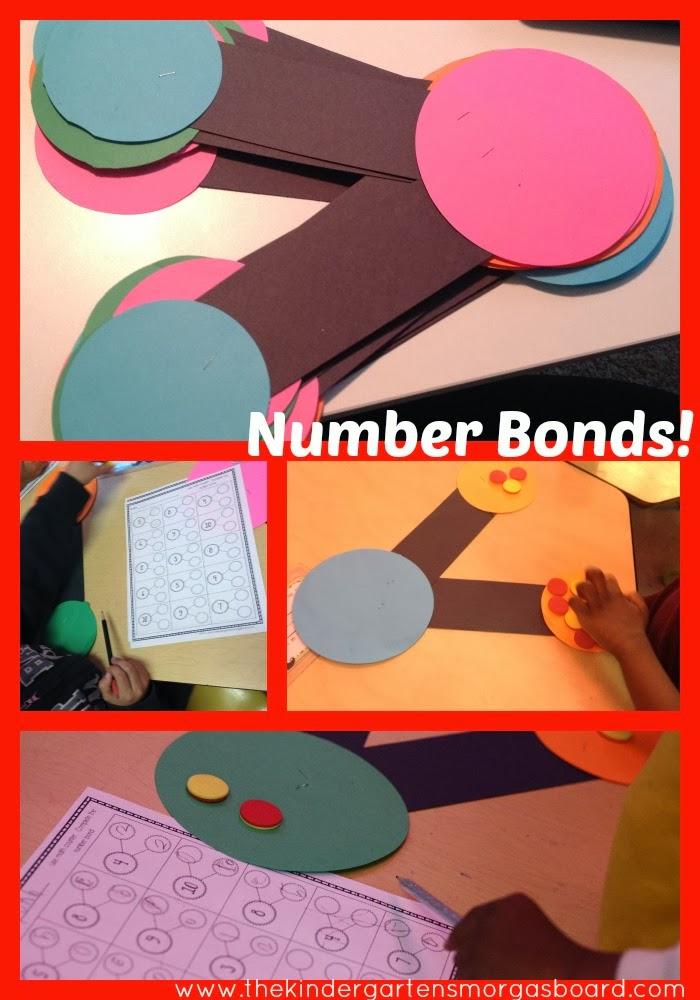 The Kindergarten Smorgasboard: A Kindergarten Smorgasboard Number Bond ...