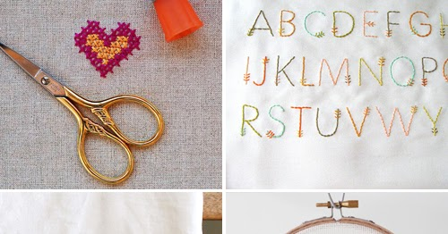 Sweet (and free) embroidery patterns
