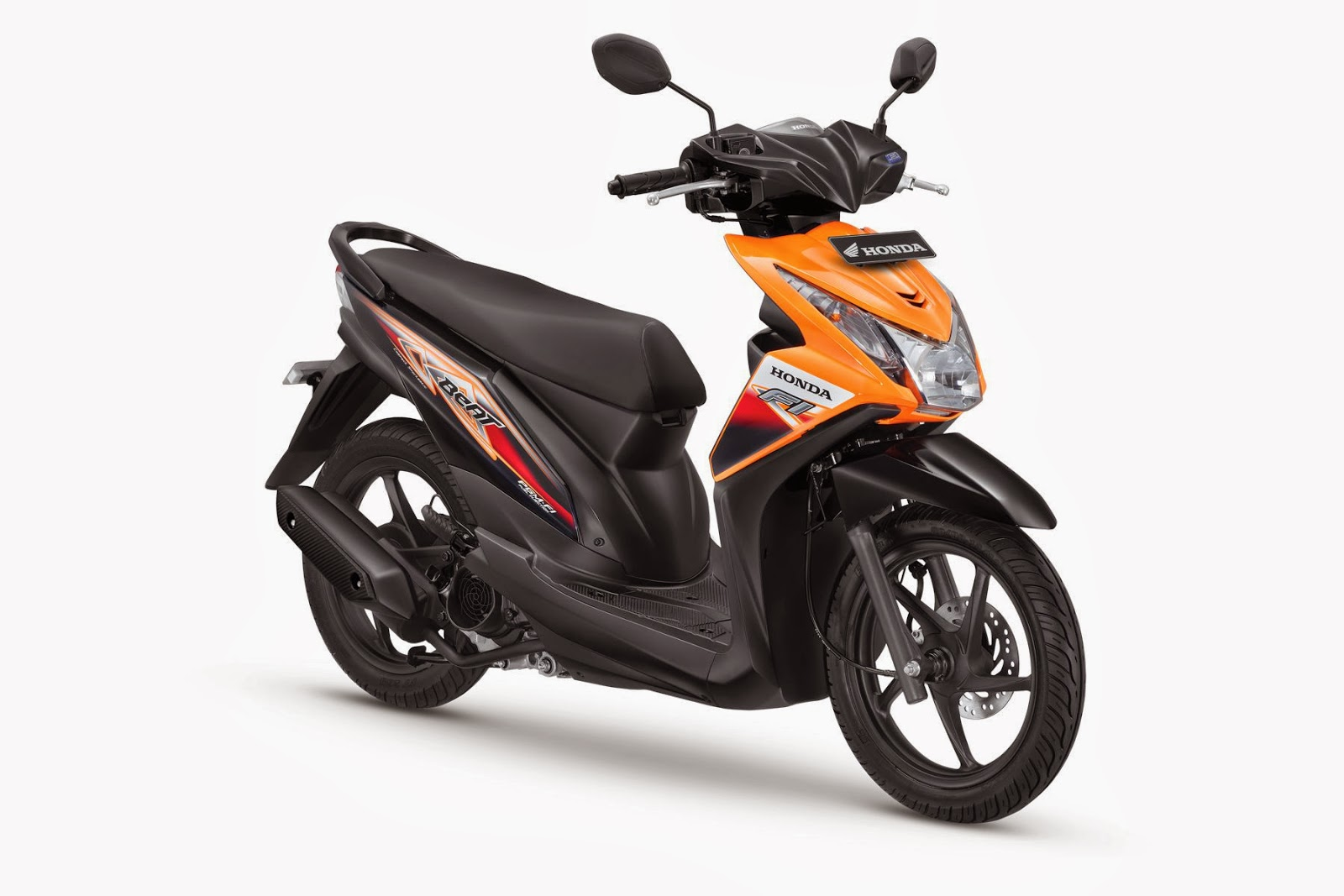The All New Honda BeAT- FI CBS Samba Orange