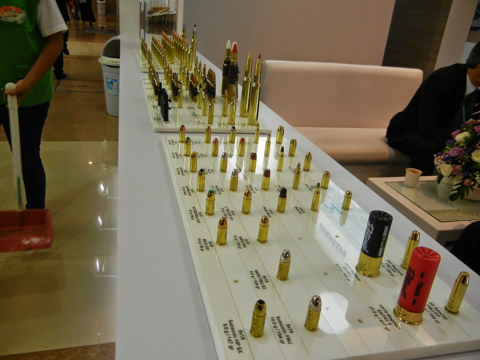 RUAG Ammotec exhibiting their ammunition