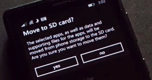 how to move games to sd card