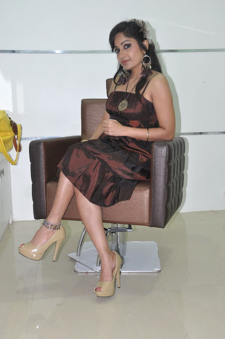 madhavi latha at naturals spa launch unseen pics