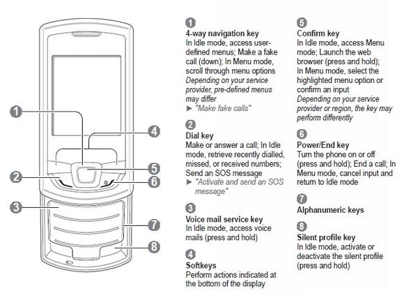 user manual samsung monte slide gt e2550 naluri Samsung WEP 410 User Guide Samsung Galaxy Centura Tutorial