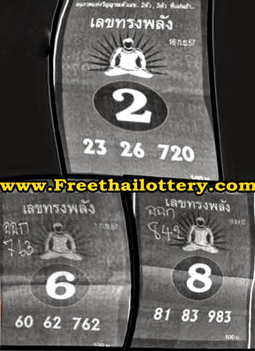 Thai lottery Single Sure Digit 16-09-2014
