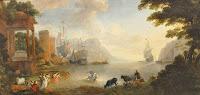 Van Minderhout, H 1652-1696.  Musée des Beaux-arts de Rouen