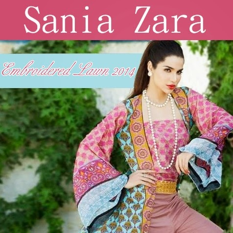 ZS Textiles Sania Zara Designer Collection 2014