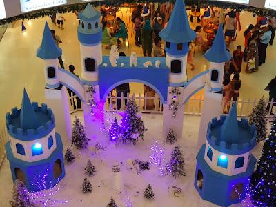 X mas in Malls