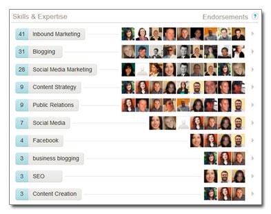 Les recommandations LinkedIn