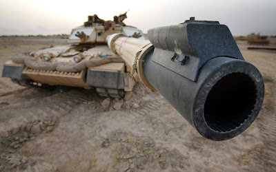 Tank Barrel Close Up Photo HD Desktop Wallpaper