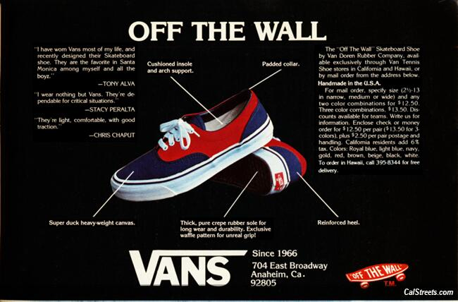 VANS SNEAKERS & GLOSS STAR INDONESIA: ABOUT VANS OFF THE WALL