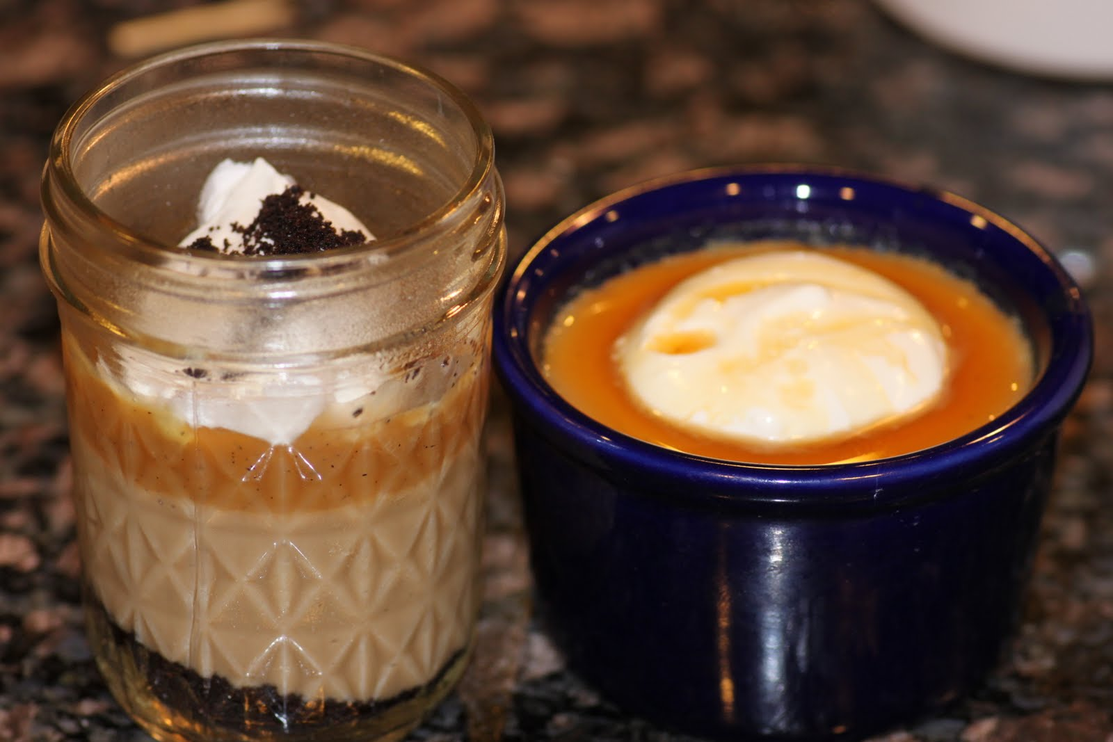 Taco Tuesday: Salted Caramel Budino vs. Butterscotch Pots de Crème