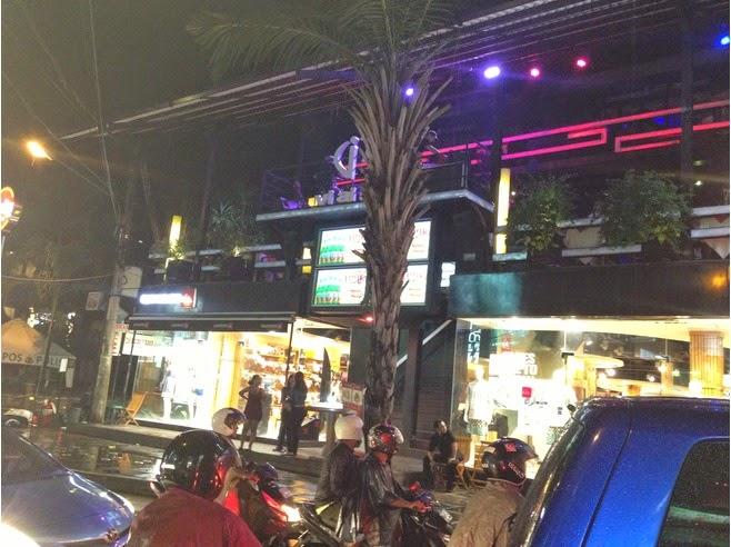 Jalan Legian Kuta Bali (Night View)