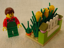 BRICK TRICK DESIGN: VEGETABLE GARDEN BUILDING KIT