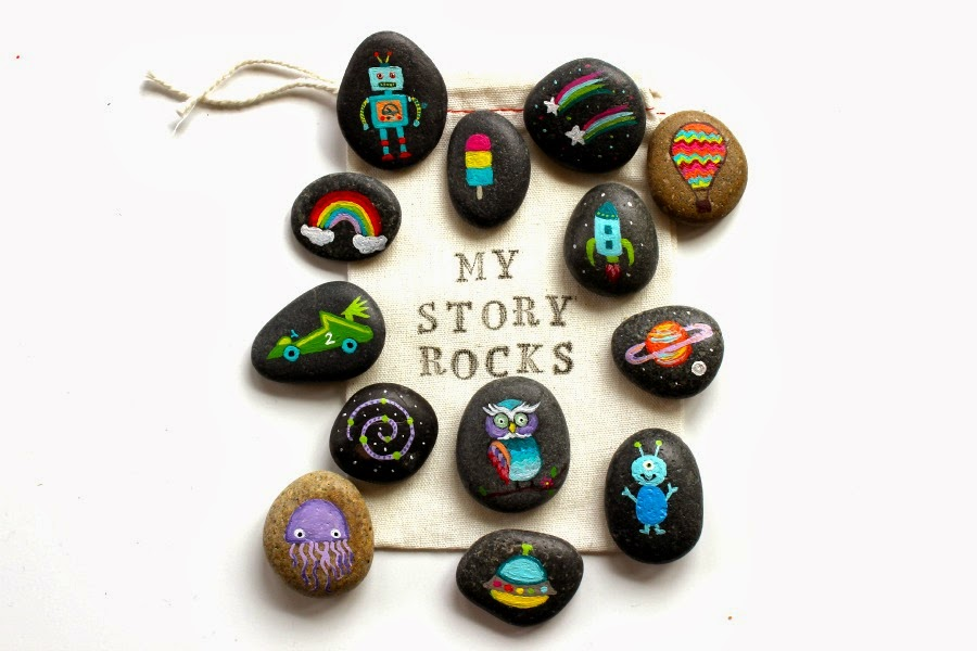 Thrive 360 Living Story Stones And Painted Rocks