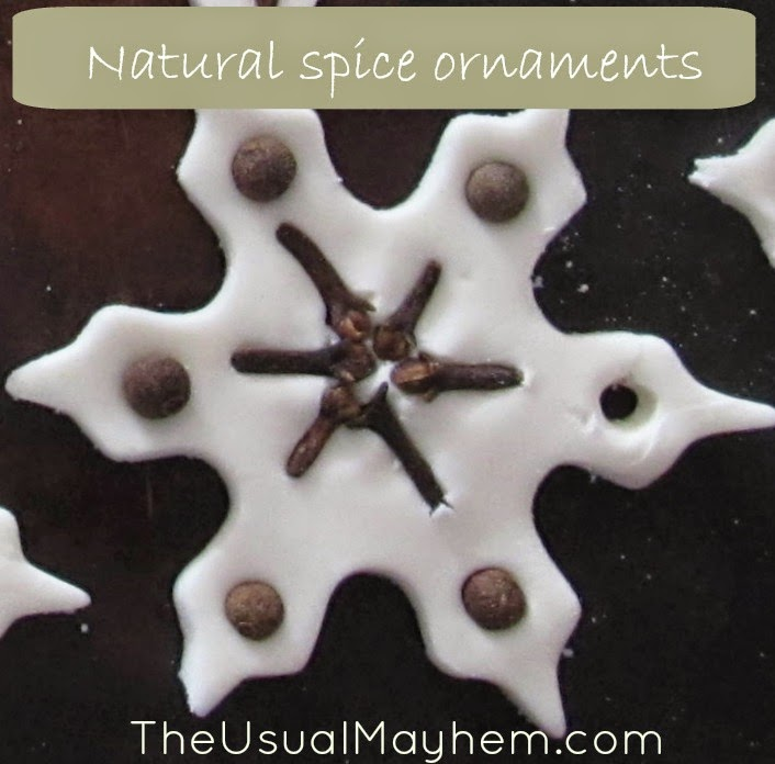 making natural spice ornaments