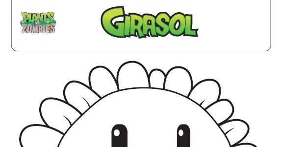 Plants VS Zombies: Coloreables Premium: Plants vs Zombies: Giralsol ...