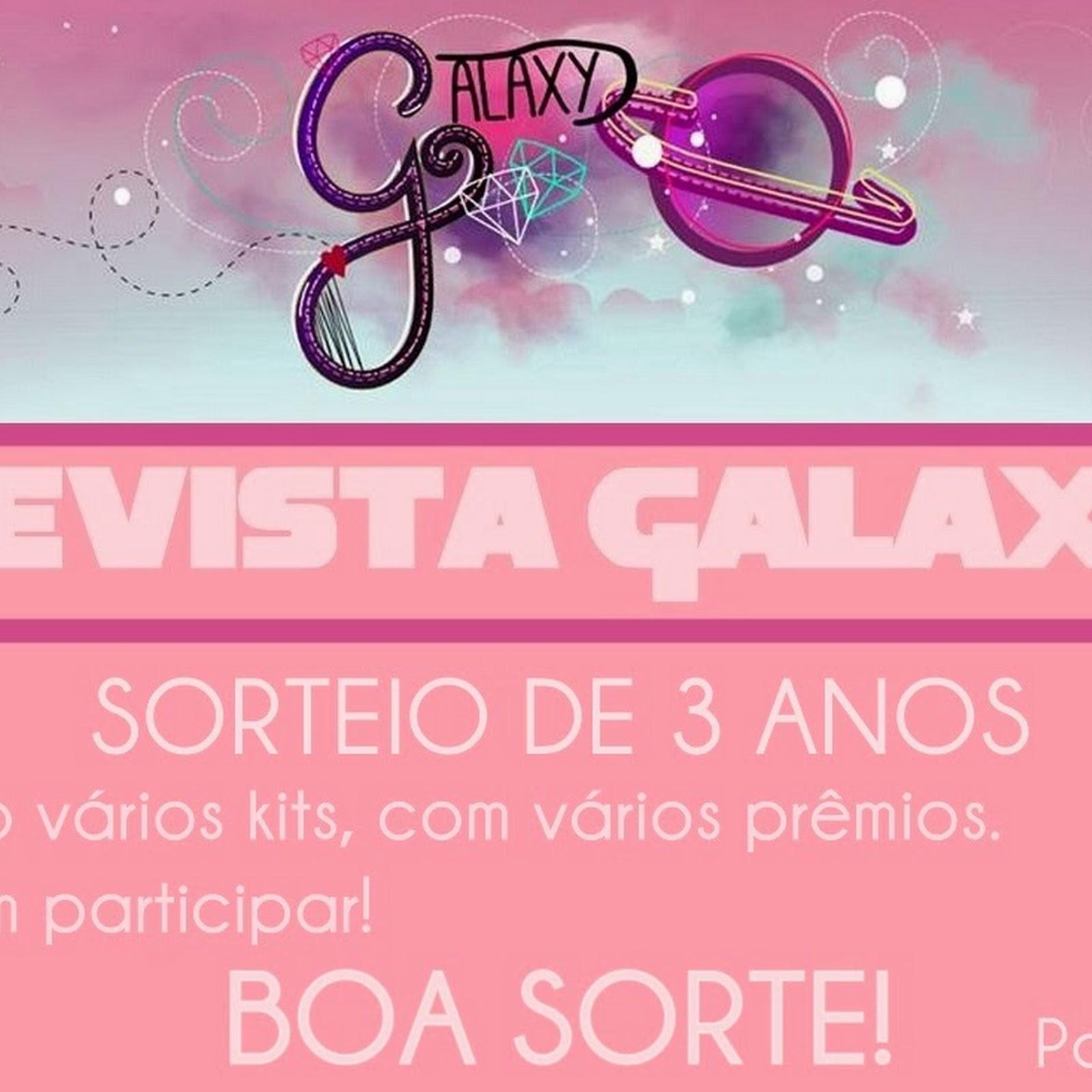 Sorteio Revista Galaxy parte 2