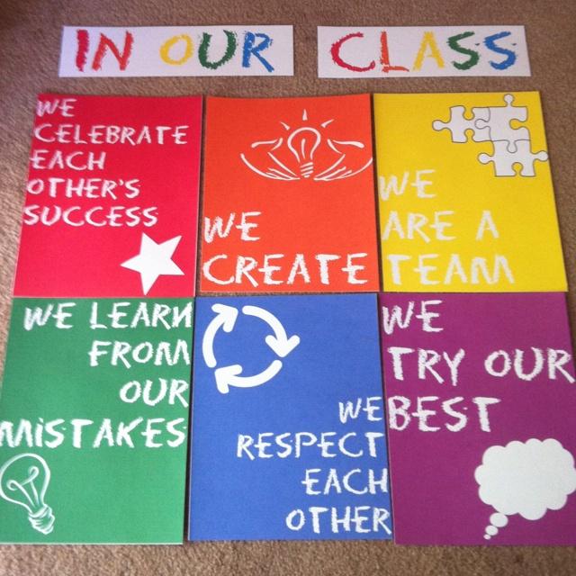 Classroom Rules Decor : Classroom decor pin party