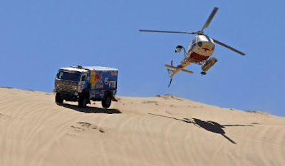 videos de camiones rally dakar 2012 man kamaz