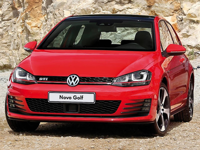 VW Golf GTI 2016  - vermelho